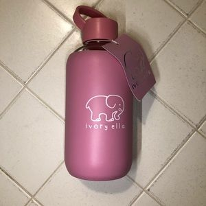 Ivory Ella Pink Water Bottle